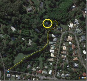 Chrissie and Paul's Google Earth