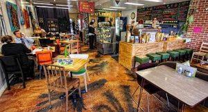 Envy Cafe floor