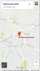 Palmwoods Hotel Map